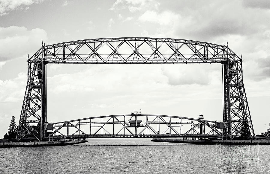 Aerial Lift Bridge by Pam  Holdsworth