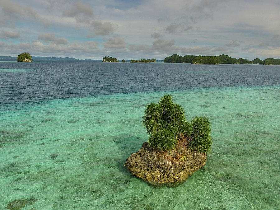 Aerial Palau by Harry Donenfeld