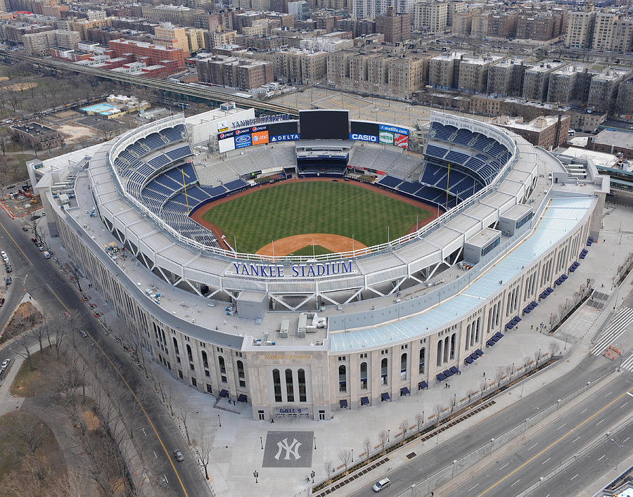 Aerial Photos Of The New Yankee Stadium Photograph by New York Daily News Archive