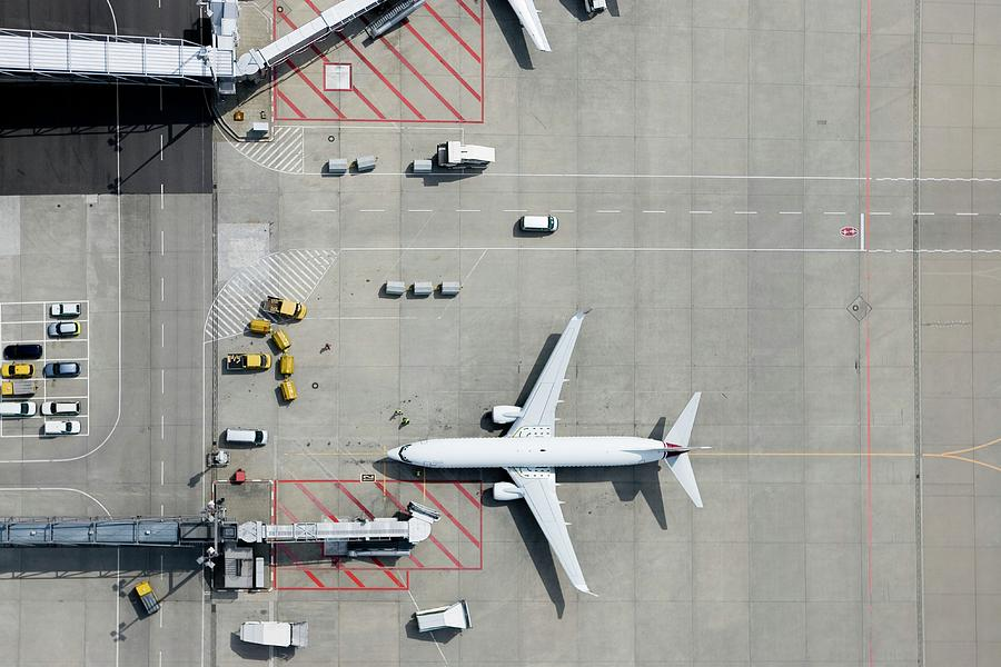 Aerial View Of Airplane Photograph by Fstop Images - Stephan Zirwes
