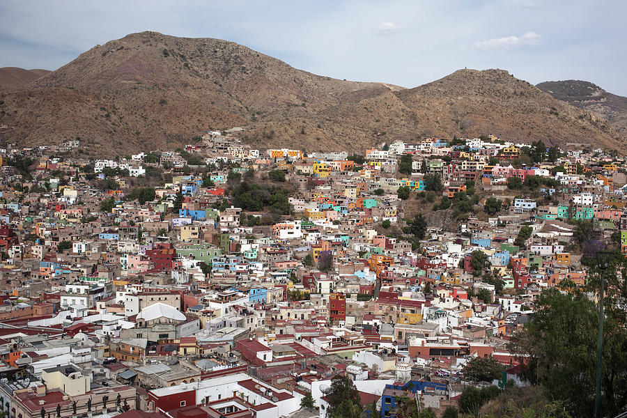 Aerial View Of Guanajuato Photograph by Jacobo Zanella
