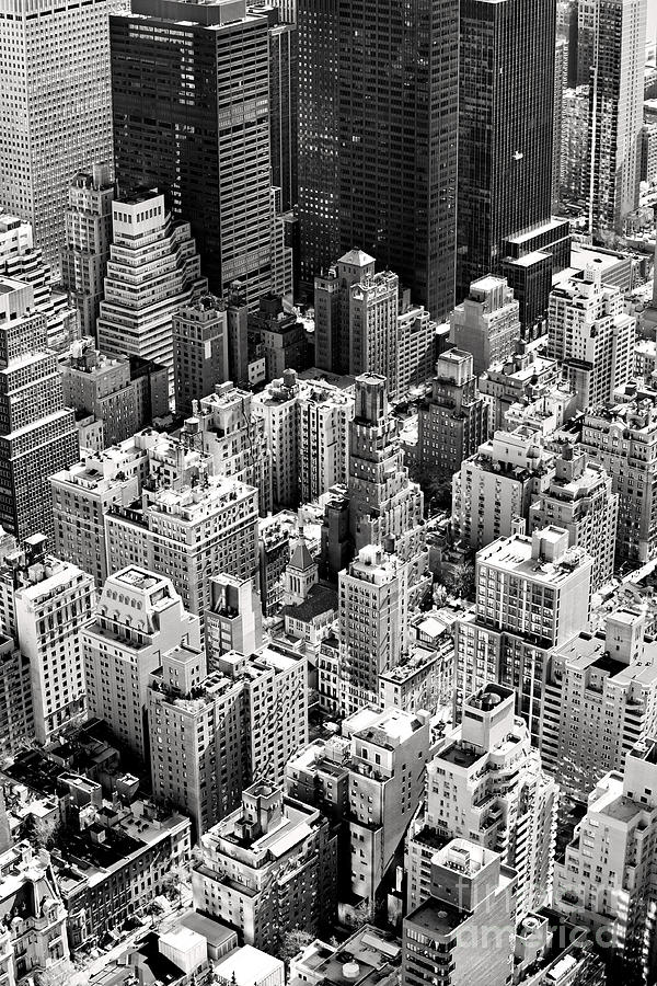 Big Photograph - Aerial View Of Manhattan, New York by Luciano Mortula - Lgm