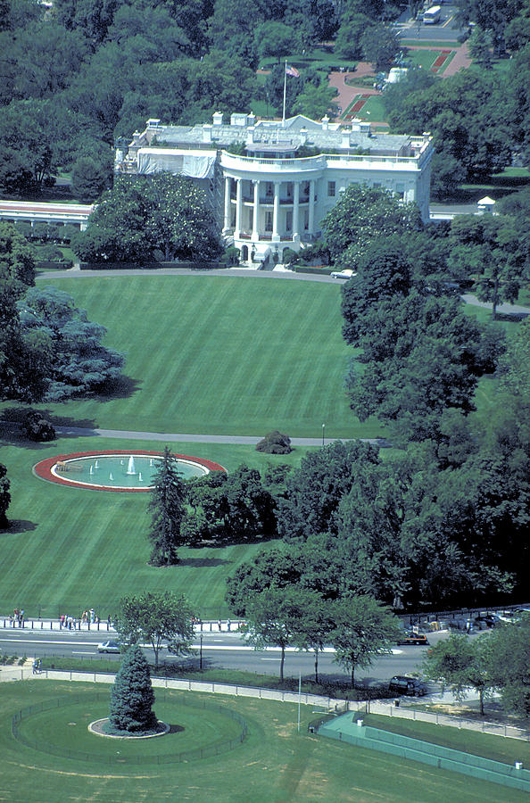 Terrific Aerial View Of White House Download Free Architecture Designs Scobabritishbridgeorg