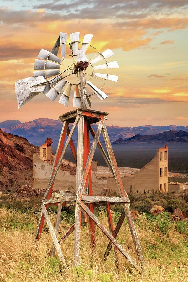 Aermotor Windmill by James Eddy