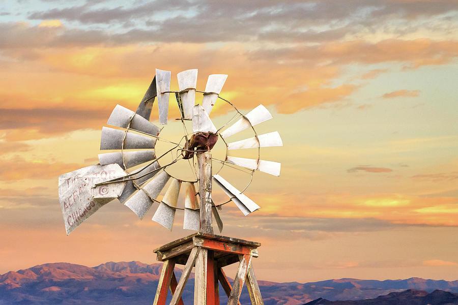 Aermotor Windmill Up Close by James Eddy