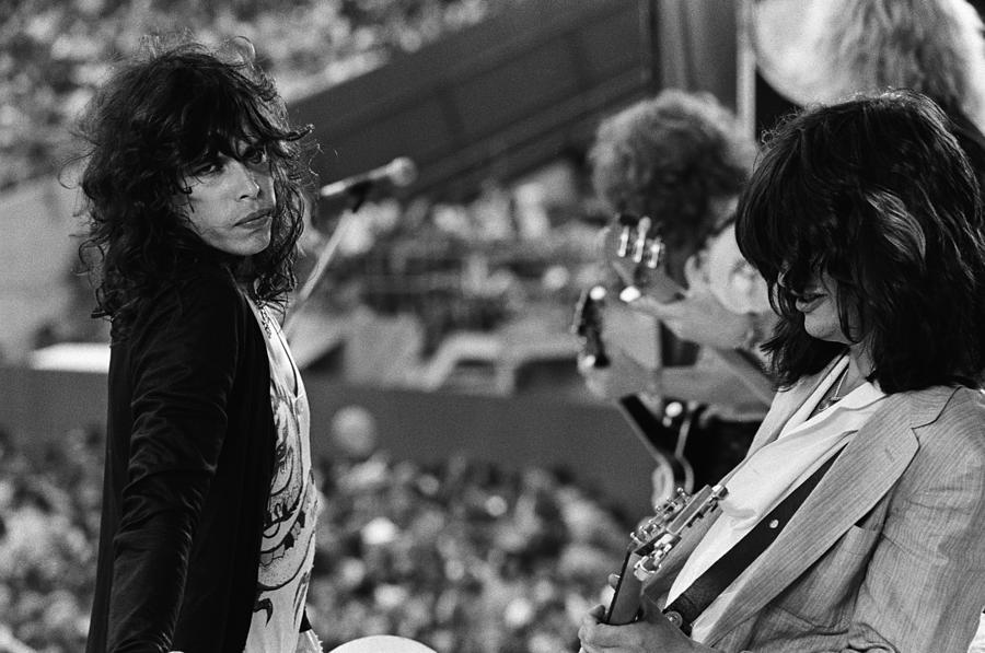 Aerosmith Performs Live Photograph by Richard Mccaffrey