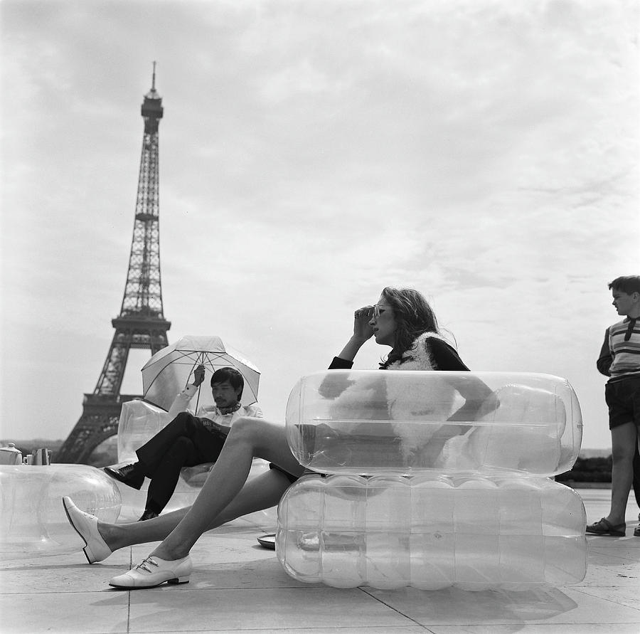Aerospace Furniture At Trocadero In 1967 Photograph by Keystone-france