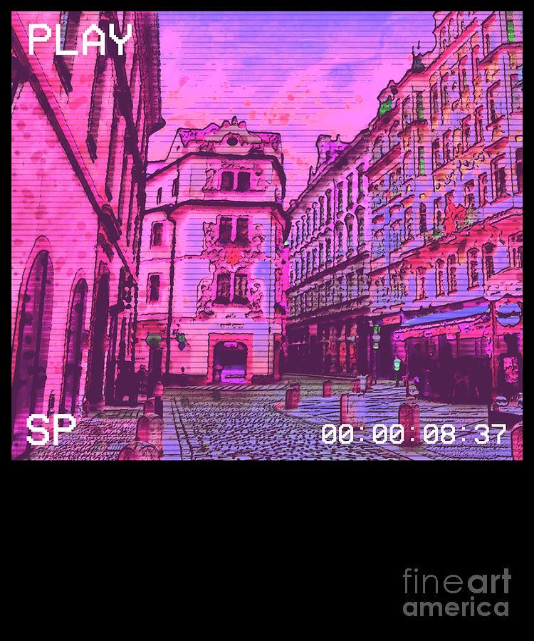 Aesthetic Japanese Anime Dream Vaporwave Depression Meme Product Digital Art By Dc Designs Suamaceir