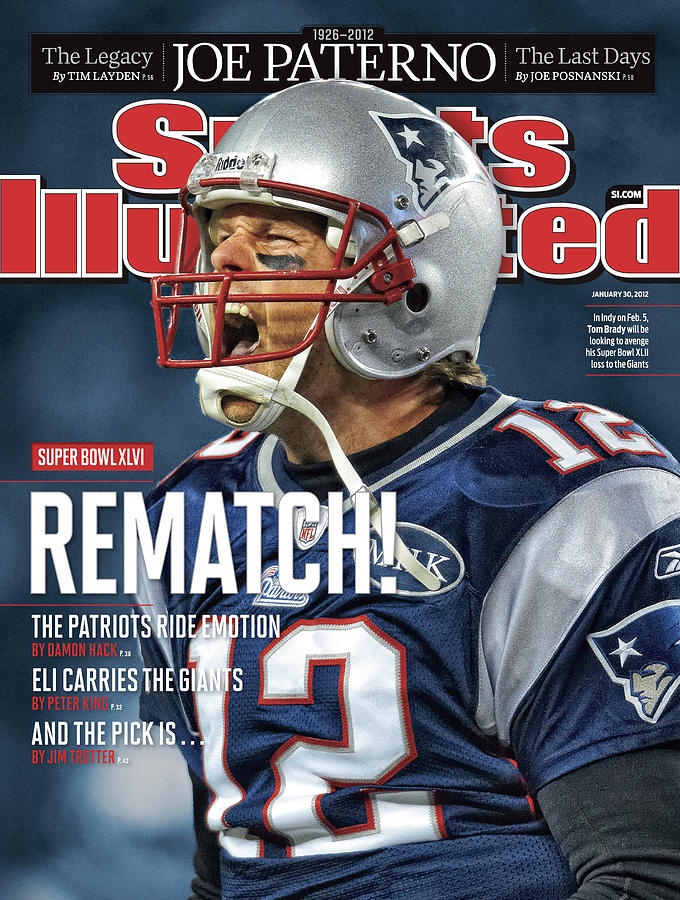 Afc Championship - Baltimore Ravens V New England Patriots Sports Illustrated Cover Photograph by Sports Illustrated
