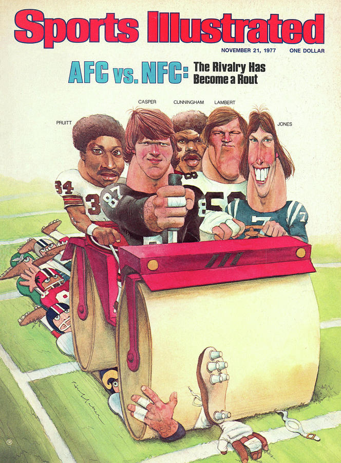 Afc Vs Nfc The Rivalry Has Become A Rout Sports Illustrated Cover Photograph by Sports Illustrated