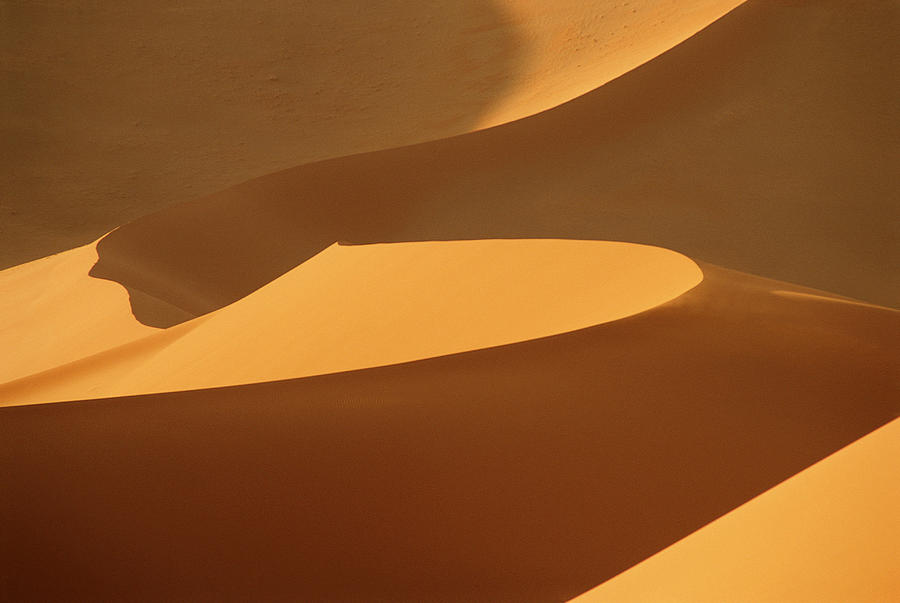 Africa, Namibia, Sand Dunes, Full Frame Photograph by Peter Adams