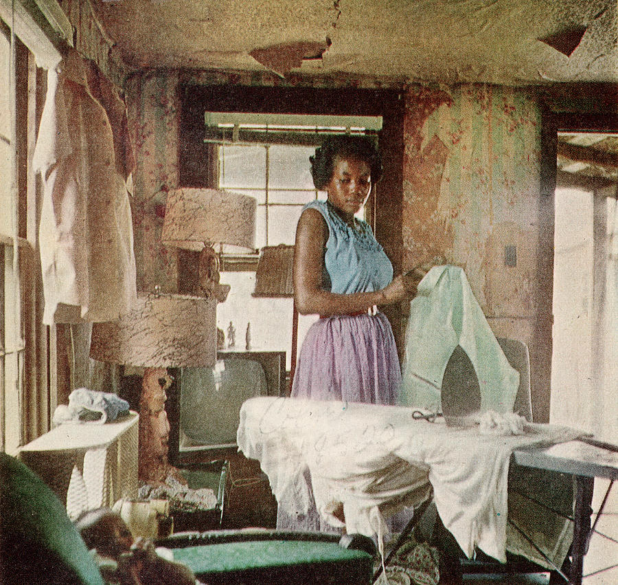 African American Virginia Lee Tanner Photograph by Gordon Parks