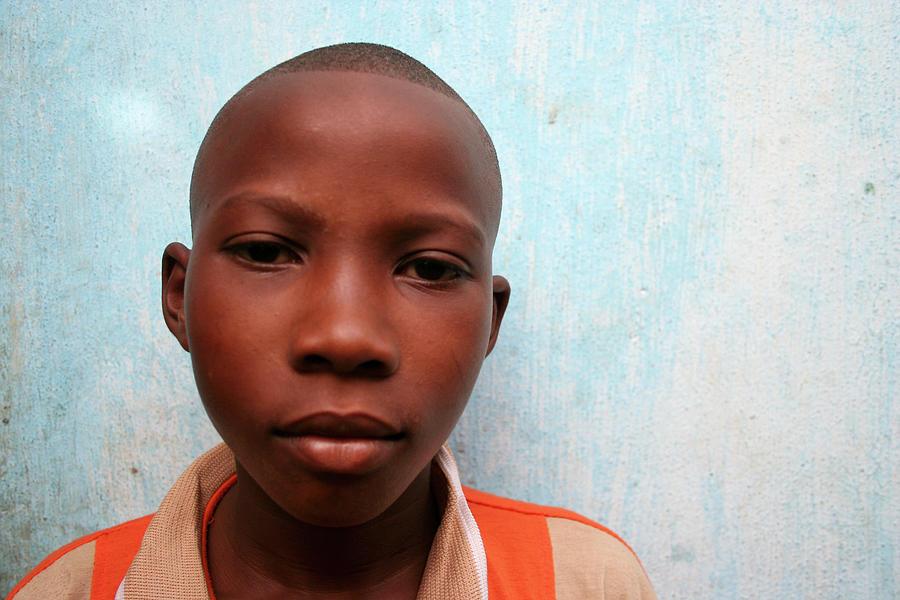 African Boy Photograph by Peeterv