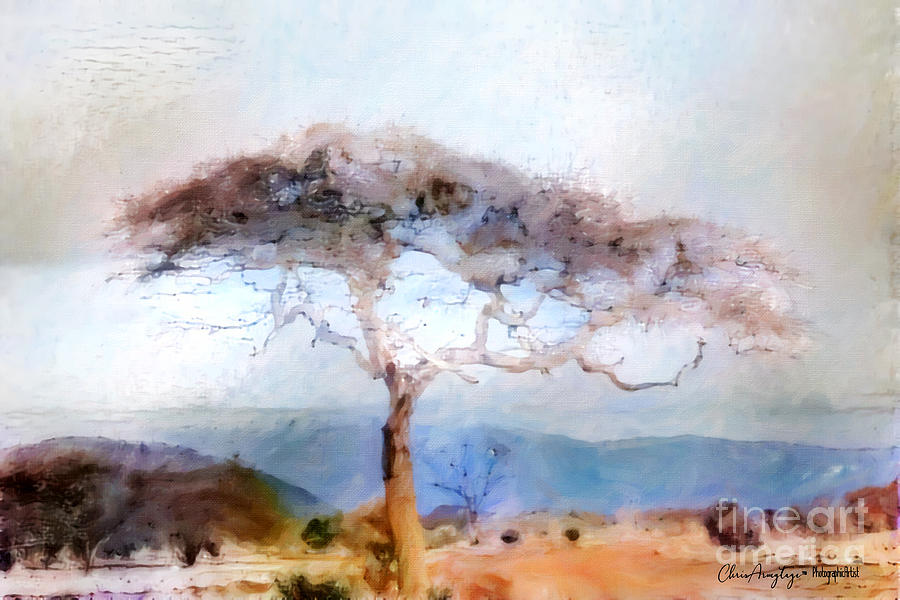 Landscape Painting - African Journey by Chris Armytage