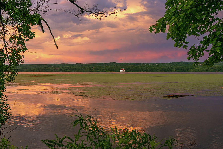 Esopus Lighthouse Photograph - After a June Thunderstorm II by Jeff Severson