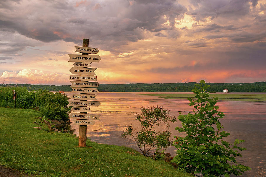 Hudson River Photograph - After A June Thunderstorm by Jeff Severson