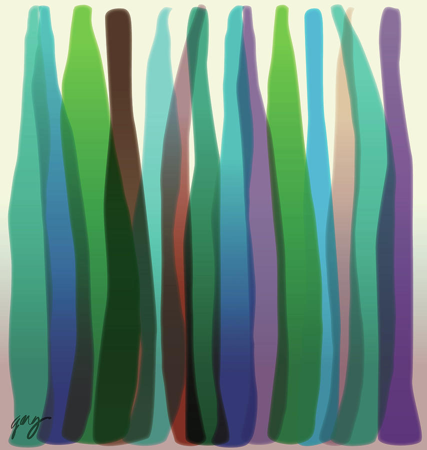 After Morris Louis Three by Gary Grayson