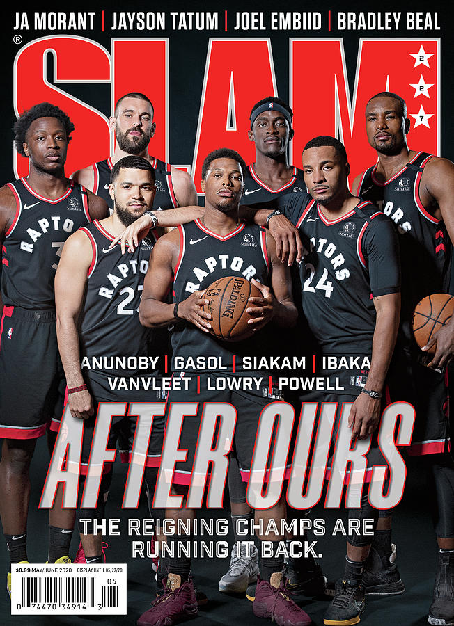 After Ours: The Reigning Champs are Running it Back SLAM Cover Photograph by Atiba Jefferson