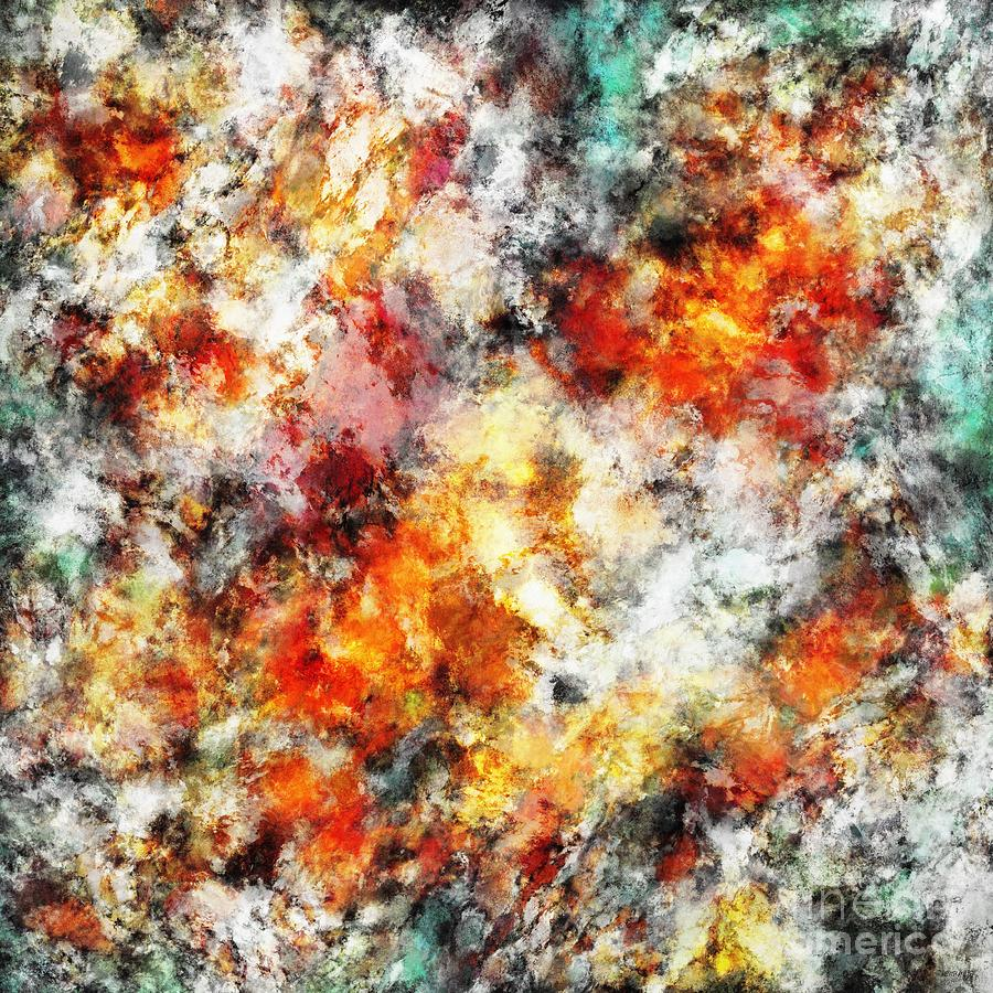 Hot Digital Art - Afterburner by Keith Mills