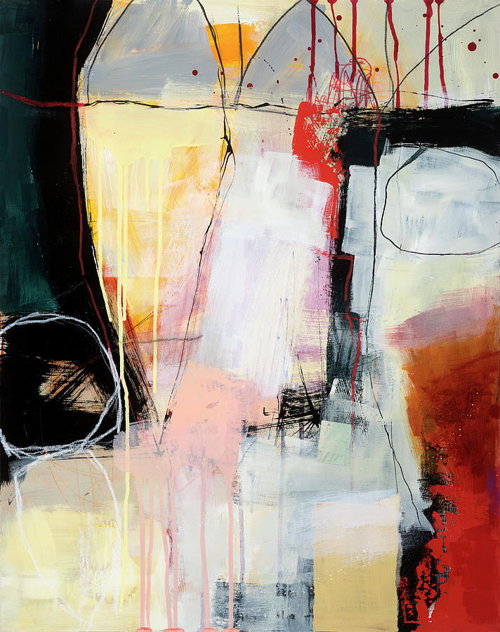 Pattern Painting - Aftermath #1 by Jane Davies