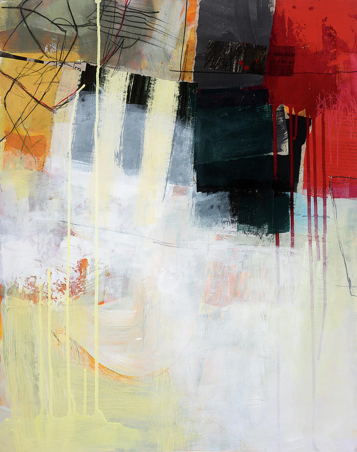 Pattern Painting - Aftermath #2 by Jane Davies