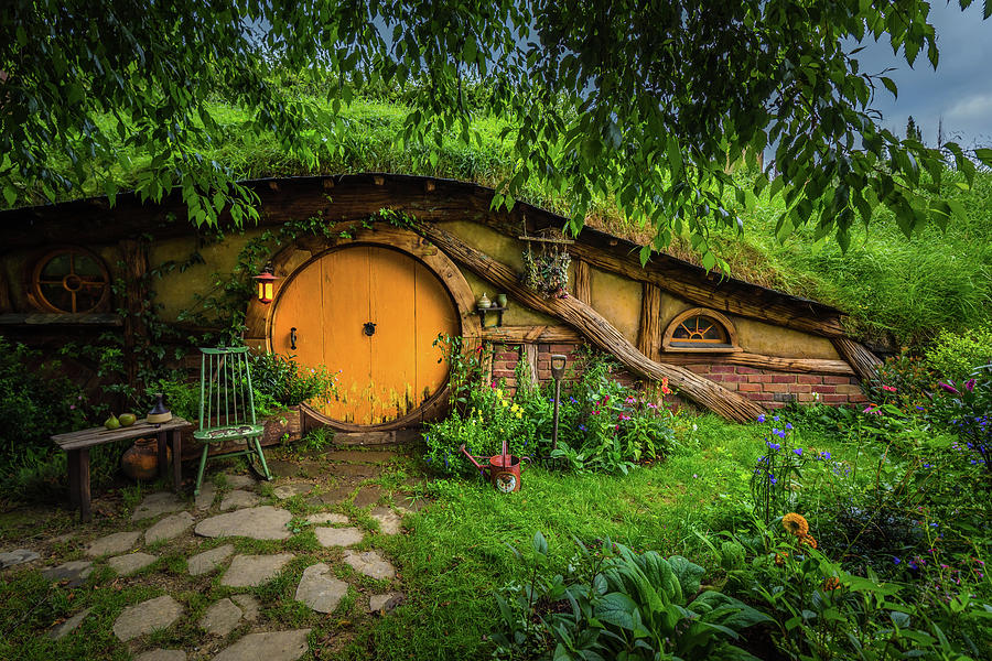 Hobbiton Afternoon by Racheal Christian