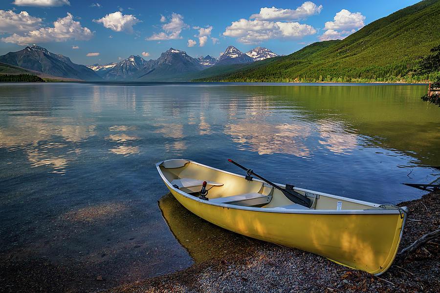 Afternoon at Lake McDonald by Rick Berk