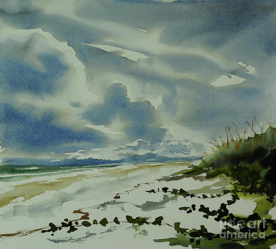 Afternoon at the ocean II  9-23-19 by Julianne Felton
