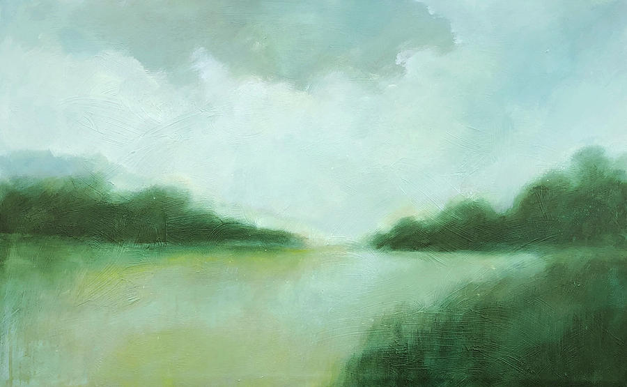 Landscape Painting - Afternoon Daydream by Filomena Booth