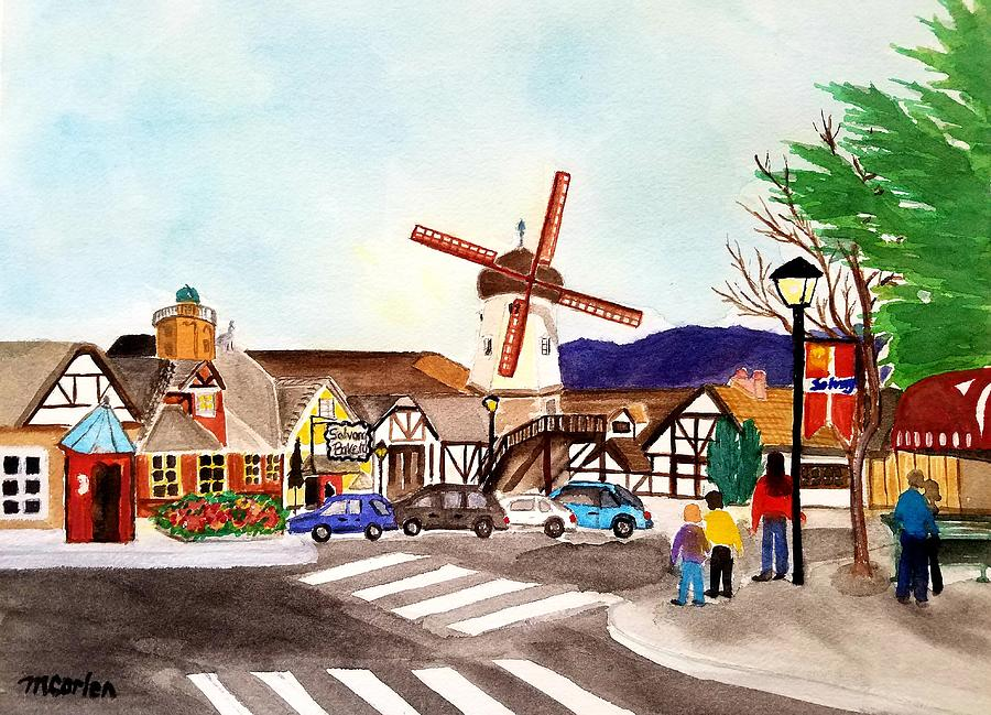 Afternoon in Solvang by M Carlen