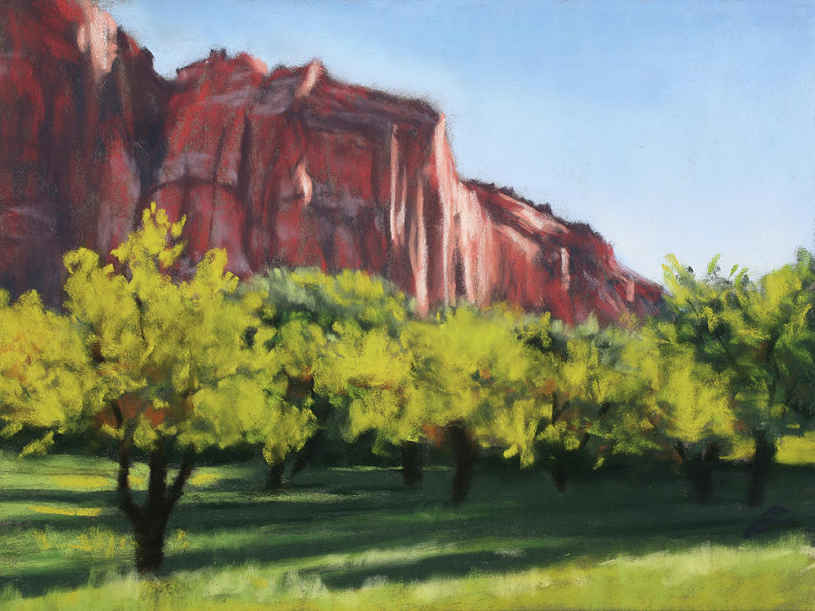 Afternoon in the Orchard by Sandi Snead