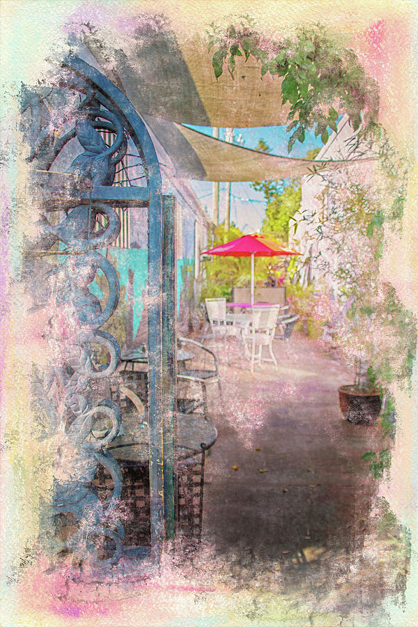 Afternoon on the Terrace by Jolynn Reed