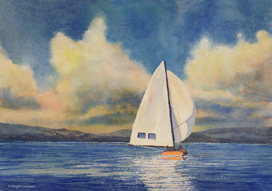 Afternoon Sailing by Douglas Castleman