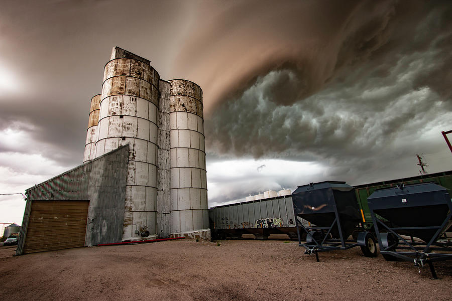 Tornado Photograph - Oh My, Brown Eyed Twirl by Brian Gustafson