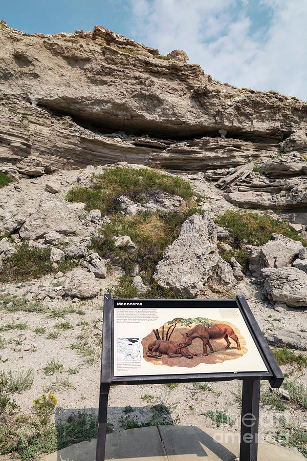 Nobody Photograph - Agate Fossil Beds National Monument by Jim West/science Photo Library