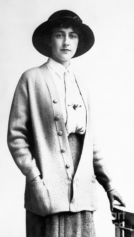 Agatha Christie Photograph by Bettmann