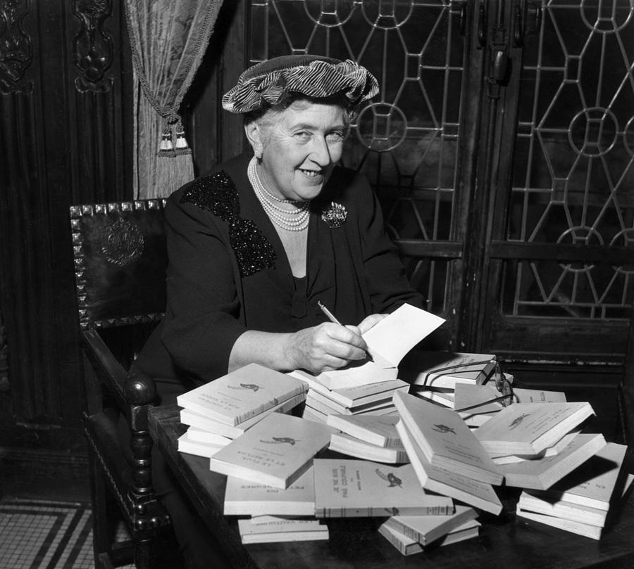 Agatha Christie Photograph by Hulton Archive