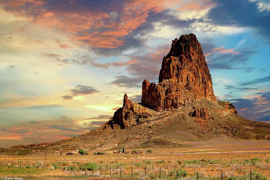 Agathla Peak by Gaylon Yancy