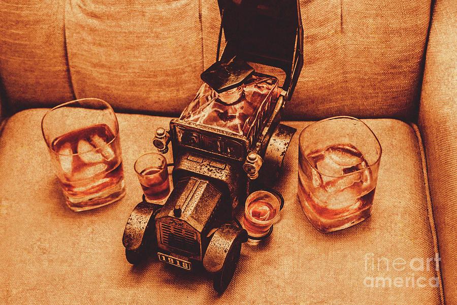 Liquor Photograph - Aged Since 1918 by Jorgo Photography - Wall Art Gallery