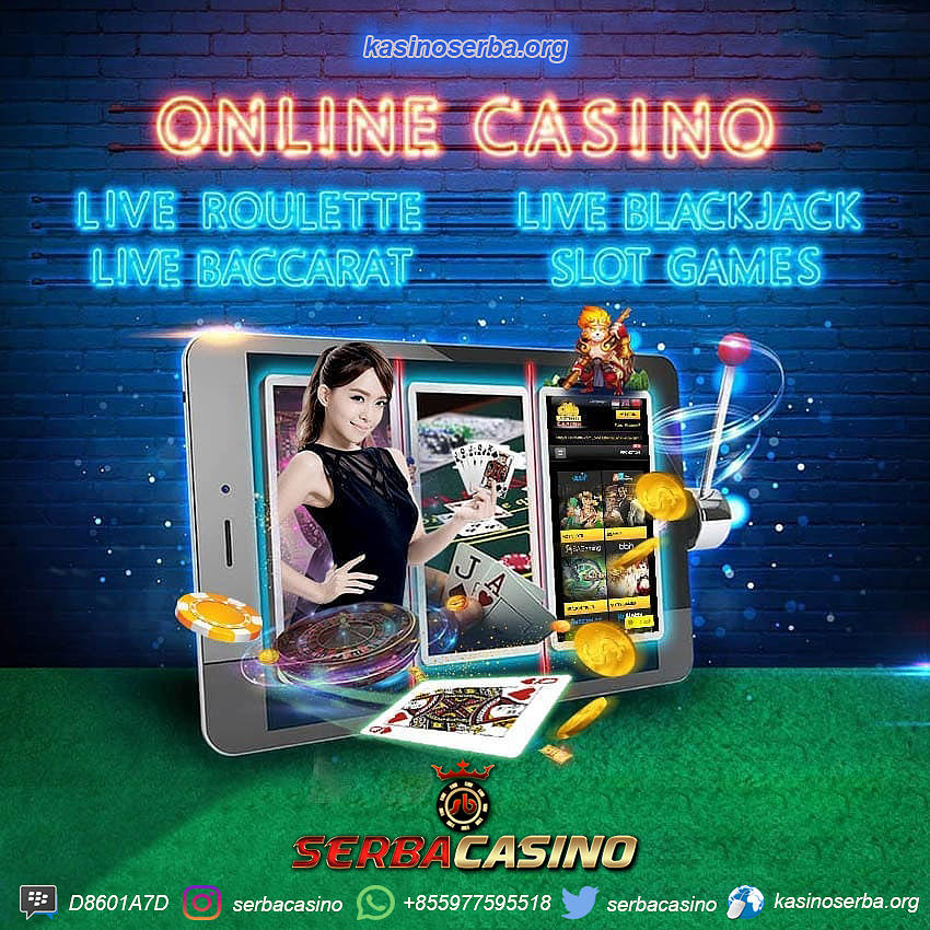 Agen Casino Baccarat Roulette Slot Mesin Online Indonesia Mixed Media By Serba Casino