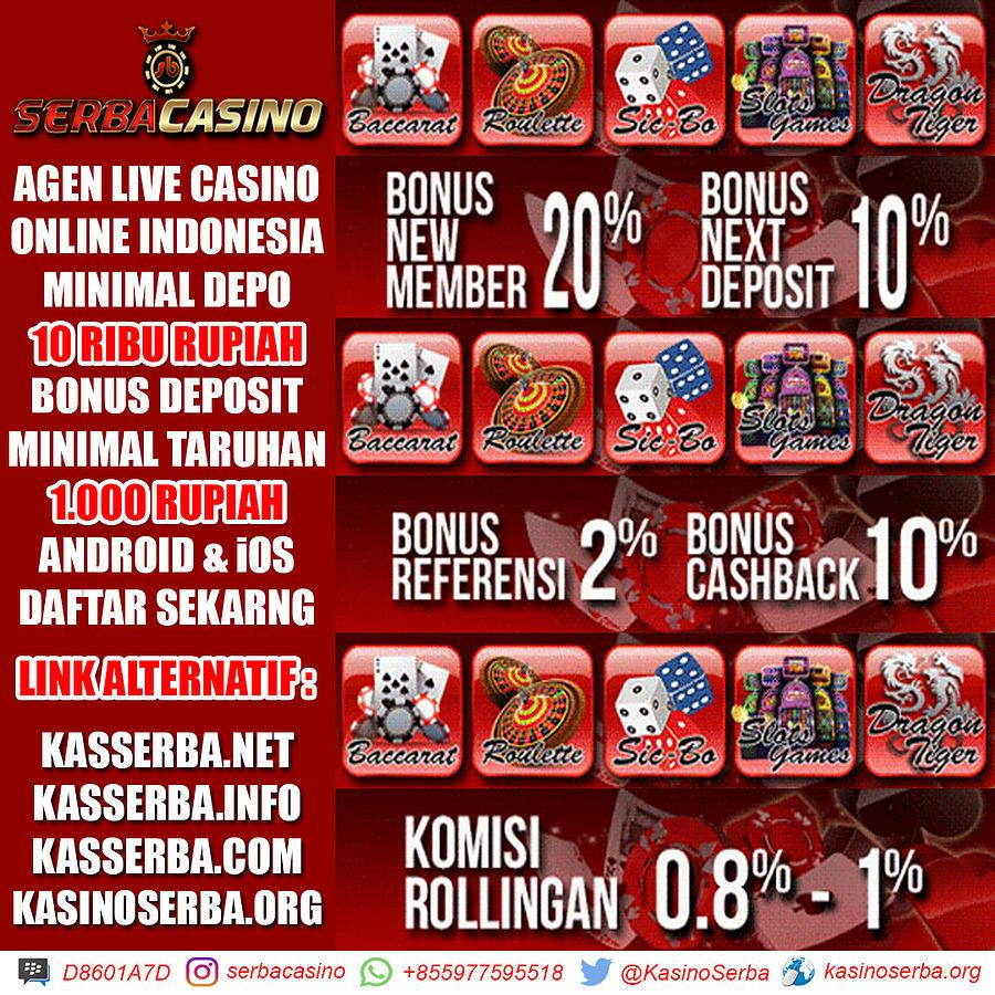 Agen Live Casino Online Bonus Setiap Hari Mixed Media By Serbacasino