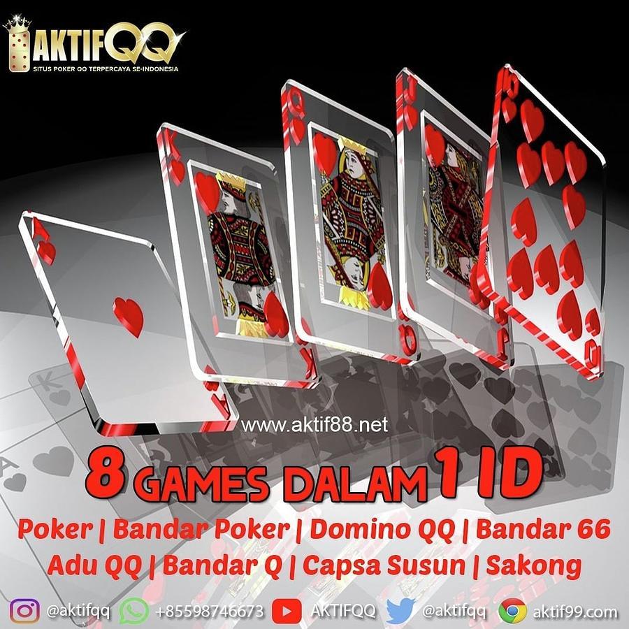 Agen Poker Mudah Menang Mixed Media By Aktifqq