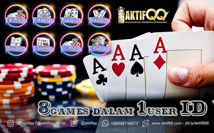 Agen Poker Online 8 Games 1 Id Mixed Media By Aktifqq