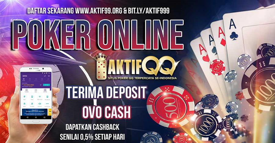 Agen Poker Online Deposit Ovo Cash Digital Art By Aktifqq