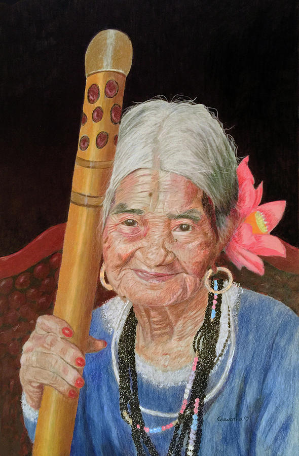 Aging Beauty by Quwatha Valentine