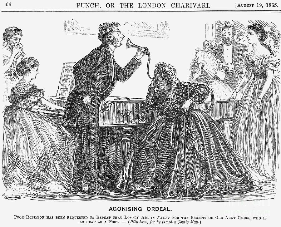 Agonising Ordeal, 1865 Drawing by Print Collector