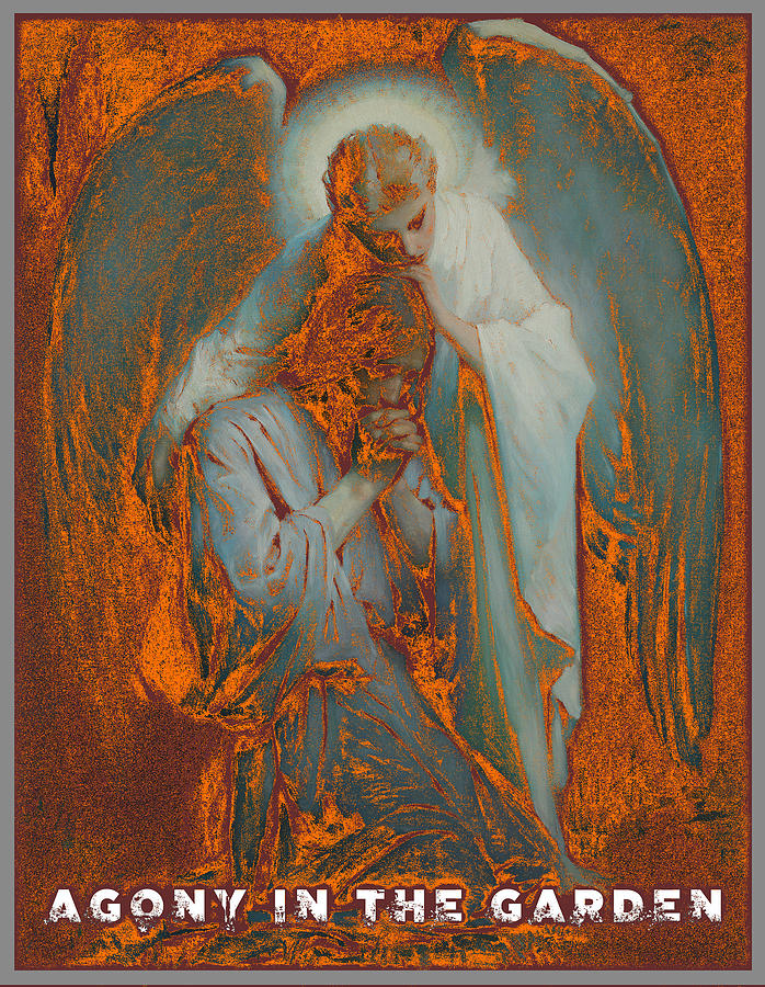 Agony In The Garden By Frans Schwartz V4 Painting By Celestial Images