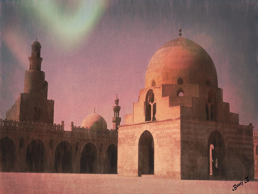 Ahmad ibn Tulun Mosque by Bearj B Photo Art
