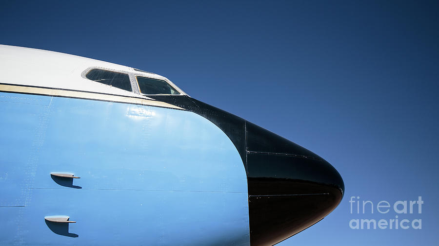 Air Force One Photograph - Air Force One by Edward Fielding