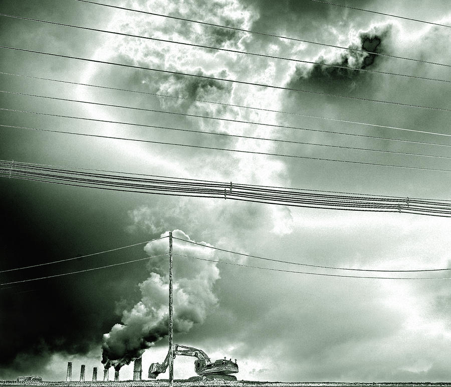 Air Pollution Photograph by Andre Kudyusov